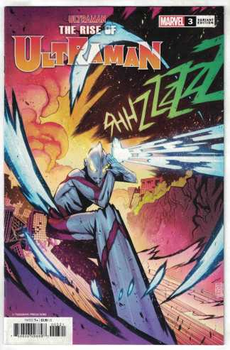 Rise of Ultraman #3 1:25 Kim Jacinto Variant Marvel 2020 VF/NM