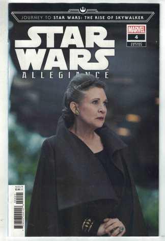 Journey To Star Wars Rise of Skywalker Allegiance #4 1:10 Photo Variant VF/NM