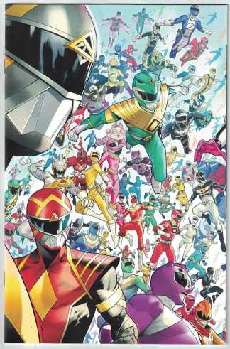 Mighty Morphin #1 1:10 Dan Mora Every Ranger Ever Variant Boom! 2020 VF/NM