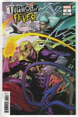 Typhoid Fever Iron Fist #1 Gerardo Sandoval Variant Marvel 2018 Storm VF/NM