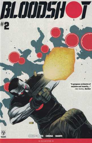 Bloodshot #2 NYCC Retailer Exclusive Ashcan Edition Variant Valiant 2019