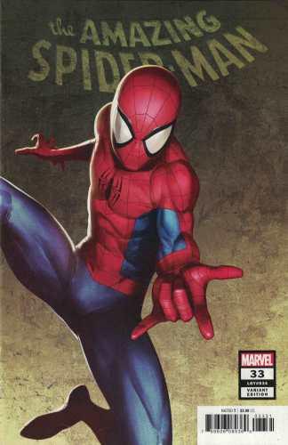 Spider-Man #33 1:50 Sami Basri Variant Marvel 2019