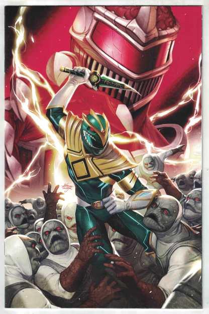 Mighty Morphin #2 1:50 InHyuk Lee Virgin Variant Green Ranger Boom! 2020 VF/NM
