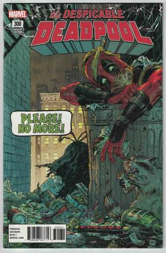 Despicable Deadpool #300 1:25 Tony Moore Variant Marvel Legacy 2017 VF/NM