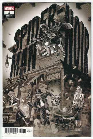 Spider-Man Noir #2 1:25 Dan Panosian Variant Marvel 2020 VF/NM