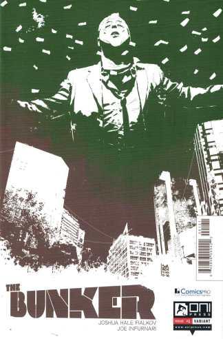 Bunker #1 Andrea Sorrentino ComicsPro Variant Oni Press 2014