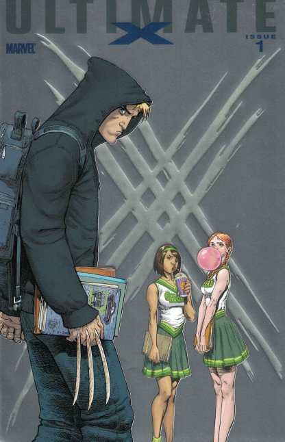 Ultimate X #1 Art Adams Foilogram Foil Variant 1st Jimmy Hudson Wolverine 2010