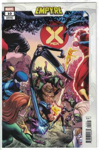 X-Men #10 Patrick Zircher Variant Marvel 2020 Empyre VF/NM