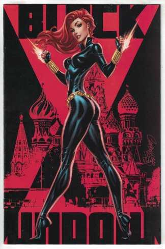 Black Widow #1 1:500 J Scott Campbell Virgin Variant Marvel 2020 NM-