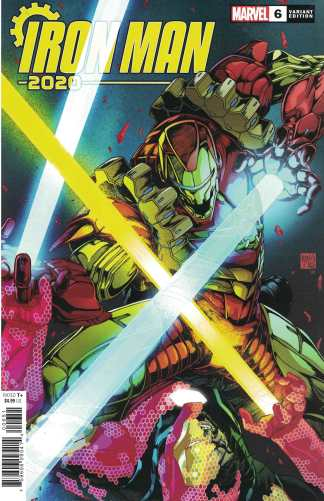 Iron Man 2020 #6 1:25 Takashi Okazaki Variant Marvel 2020