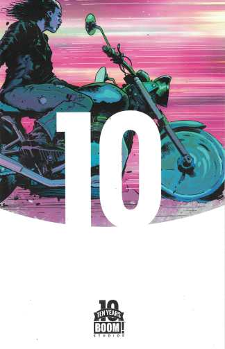 Curb Stomp #1 1:10 Trevor Hairsine Ten Years of Boom Anniversary Variant