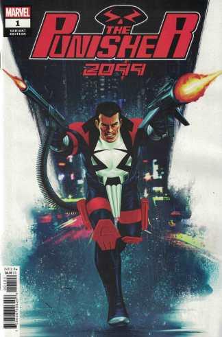 Punisher 2099 #1 1:25 Steve Epting Variant Marvel 2019