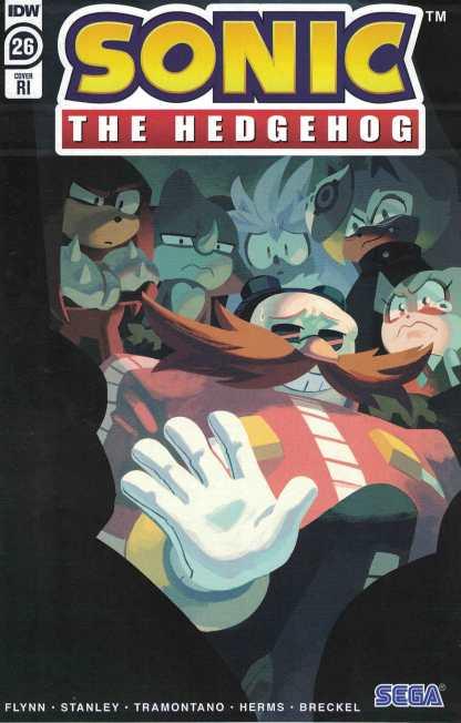 Sonic the Hedgehog #26 1:10 Nathalie Fourdraine Variant IDW 2018