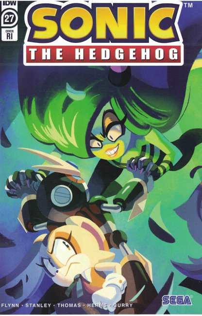 Sonic the Hedgehog #27 1:10 Nathalie Fourdraine Variant IDW 2018