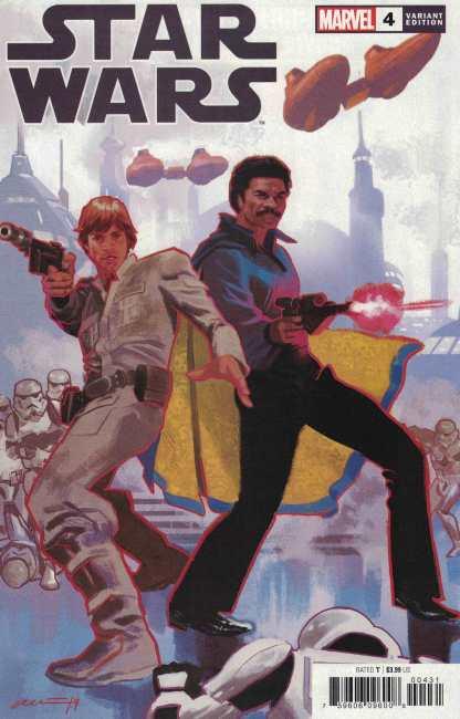 Star Wars #4 1:25 Daniel Acuna Variant Marvel 2020