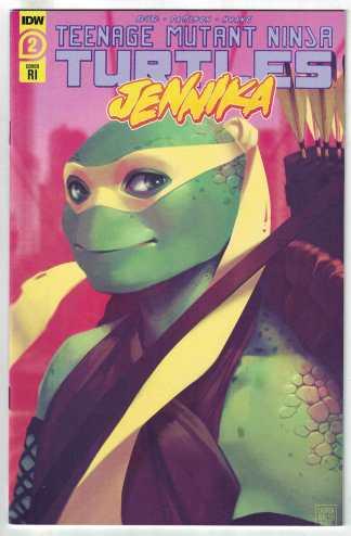 Teenage Mutant Ninja Turtles Jennika #1 1:10 Lauren Walsh Variant IDW 2020 VF/NM