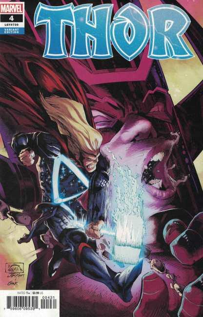 Thor #4 1:25 Ryan Stegman Variant Marvel 2019 Donny Cates