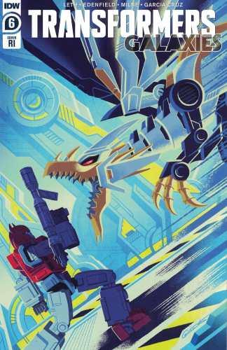 Transformers Galaxies #6 1:10 George Caltsoudas Variant IDW 2020