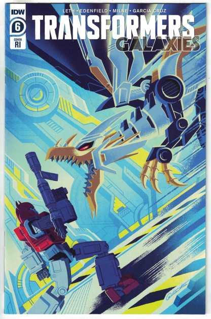 Transformers Galaxies #6 1:10 George Caltsoudas Variant IDW 2020 VF/NM