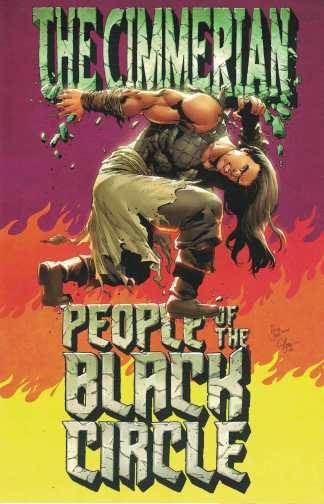 Cimmerian People of the Black Circle #3 1:10 Fritz Casas Virgin Variant 2020