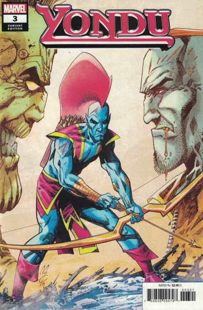 Yondu #3 1:25 John McCrea Variant Marvel 2019 Guardians of the Galaxy