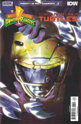Power Rangers Teenage Mutant Ninja Turtles #2 2nd Printing Cover I BOOM 2019
