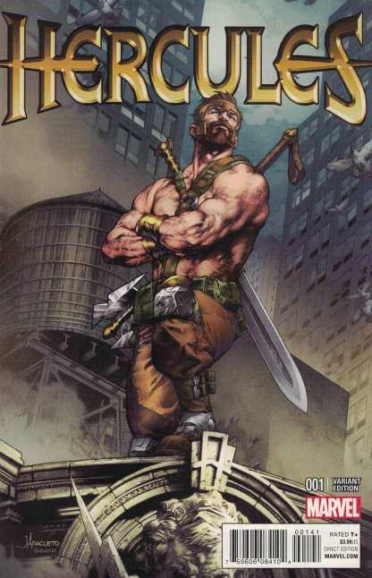 Hercules #1 1:25 Anacleto Variant Marvel 2015 ANAD