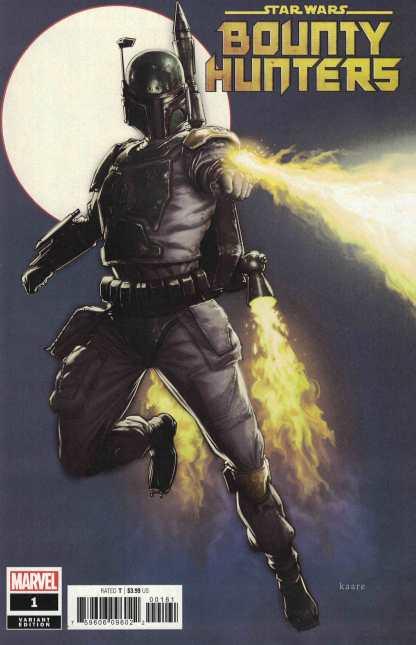 Star Wars Bounty Hunters #1 Kaare Kyle Andrews Variant Marvel 2020
