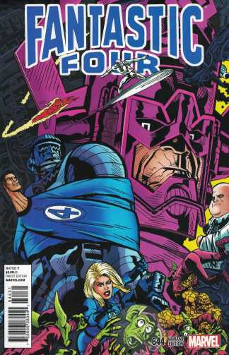 Fantastic Four #644 Michael Golden Variant Marvel 2014 Galactus