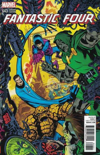 Fantastic Four #643 Golden Connecting Variant Marvel