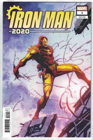 Iron Man 2020 #1 1:25 Khoi Pham Variant Marvel VF/NM