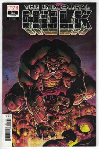 Immortal Hulk #31 1:25 Geoff Shaw Variant Marvel 2018 VF/NM