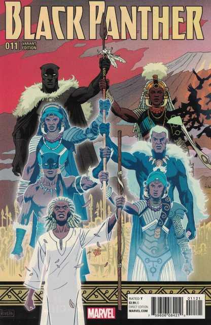 Black Panther #11 Paolo Rivera Variant Marvel 2016 Ta-Nehisi Coates