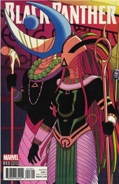 Black Panther #13 Jamie McKelvie Variant Marvel 2016 Ta-Nehisi Coates