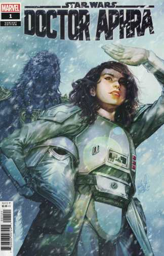Star Wars Doctor Aphra #1 1:25 Ashley Witter Variant Marvel 2020