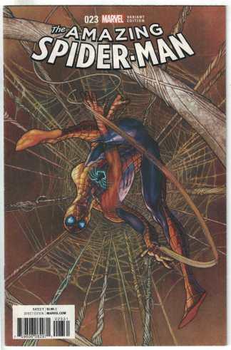 Amazing Spider-Man #23 1:25 Simone Bianchi Variant ANAD Marvel 2015 VF/NM