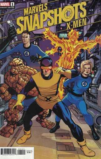 Marvels Snapshots X-Men #1 1:50 Mike McKone Variant Marvel 2020