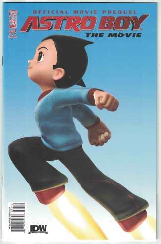 Astro Boy The Movie Prequel #2 1:10 RI Variant IDW 2009 VF/NM
