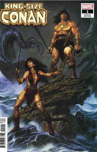 King-Size Conan #1 1:25 Joe Jusko Marvel 2020 Richard Thomas