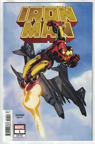 Iron Man #1 1:100 Rick Leonardi Hidden Gem Variant Marvel 2020 VF/NM