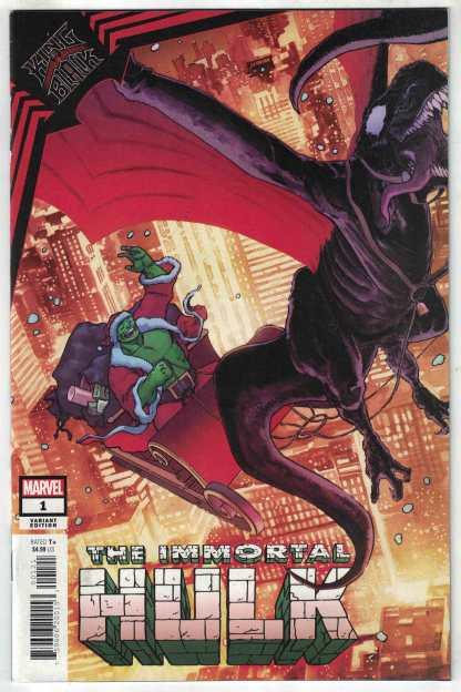 King in Black Immortal Hulk #1 1:50 Kuder Holiday Variant Marvel 2020 VF/NM