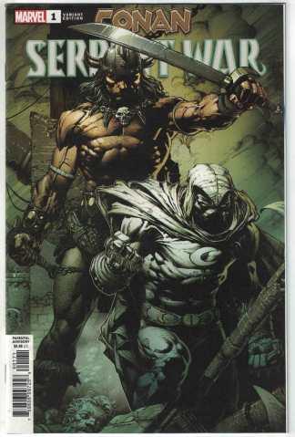 Conan Serpent War #1 1:100 David Finch Variant Marvel 2019 Moon Knight VF/NM