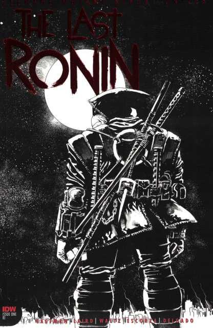 Teenage Mutant Ninja Turtles The Last Ronin #1 2nd Print Foil Thank You Variant