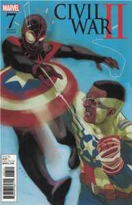 Civil War II #7 1:10 Phil Noto Sam Wilson Miles Morales Variant Marvel 2016