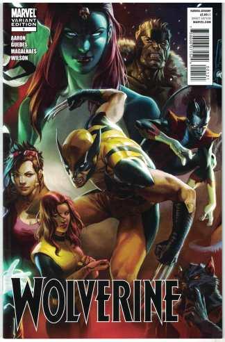 Wolverine #1 1:75 Marko Djurdjevic Connecting Variant 2010 Jason Aaron VF/NM