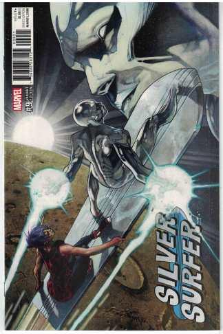 Silver Surfer #9 1:25 Simone Bianchi Variant Marvel 2016 Slott Allred VF/NM