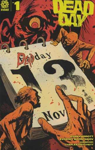 Dead Day #1 1:15 Francesco Francavilla Variant AfterShock 2020