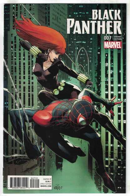 Black Panther #7 Lenil Francis Yu Champions Variant Marvel 2016 VF/NM
