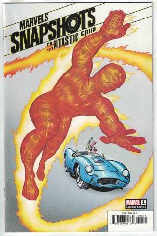 Fantastic Four Marvels Snapshots #1 Jack Kirby Hidden Gem Variant 2020 VF/NM
