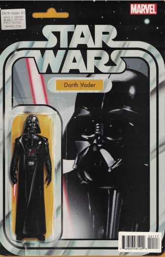 Darth Vader #1 Christopher Action Figure Variant Marvel Star Wars 2015 Vader